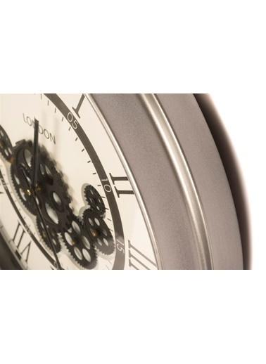 Mikasa Moor Duvar Saati Gümüş